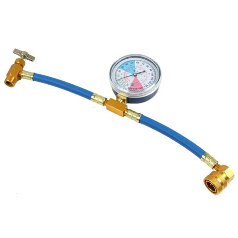 Pipa Refrigerant R134a Recharge Measuring Hose Adapter A C