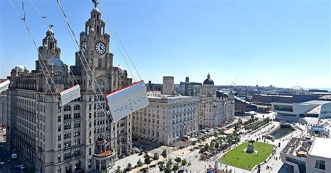 swinging liverpool check out this amazing view of liverpool from the 60m high