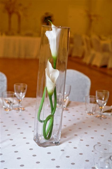 banquet centerpieces two flowers stems in centerpiece demers banquet