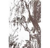Dibujo Artistico Paisajes Y Jardines  Plantillas Para