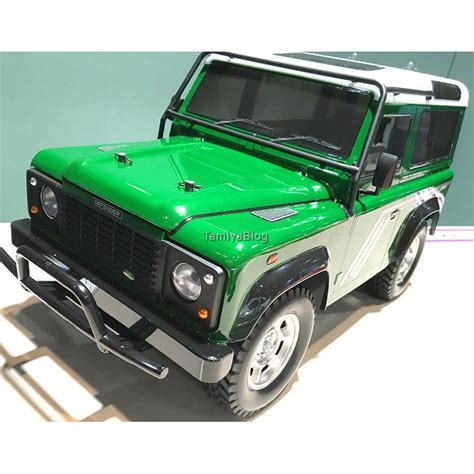 land rover tamiya tamiya 58657 land rover defender 90 cc 01 actual