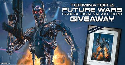 Printed Giveaways - terminator 2 future wars print giveaway sideshow collectibles