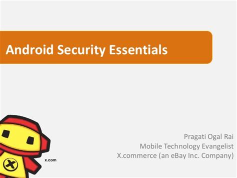 android security essentials presentation