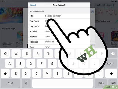 step by step membuat id apple cara membuat apple id tanpa kartu kredit wikihow