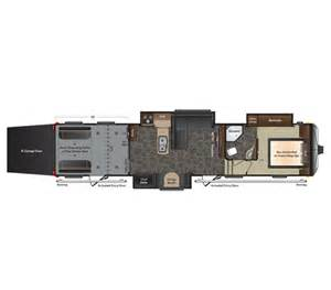 Fuzion Toy Hauler Floor Plans 2014 Fuzion 404 Floor Plan Toy Hauler Keystone Rv