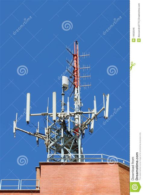 antenna for mobile network stock photo image of radiator 14632546