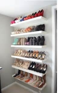 shoe shelves for closets ikea stylehunter collective diy tricks to clean and store your
