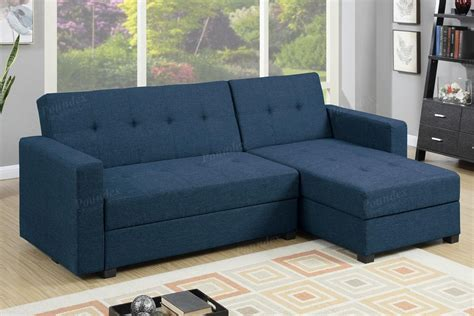 Blue Fabric Sectional Sofa Bed Steal A Sofa Furniture Sectional Sofa Blue
