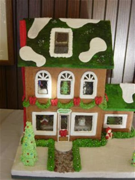 gingerbread house windows leaf gelatin sheets