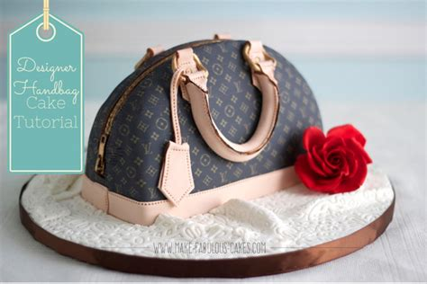 how to make a design designer handbag cake tutorial