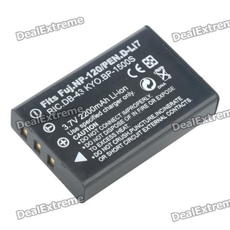 Fujifilm Battery Np 120 2200mah replacement np 120 3 6v quot 2200mah quot battery pack for