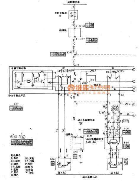 mitsubishi power window wiring diagram free