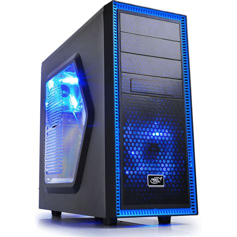 Casing Sharkoon Dg7000 Blue Atx deepcool tesseract mid tower tesseract sw b h photo