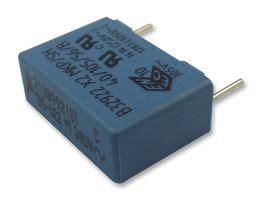 polypropylene capacitor farnell b32922c3224m000 epcos capacitor 0 22 181 f x2 b32922c series 305 v pp polypropylene