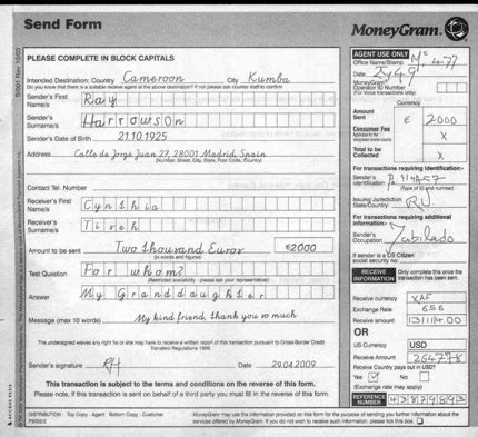 Moneygram Money Order Receipt Template by Moneygram Payment Receipt Puppyscam