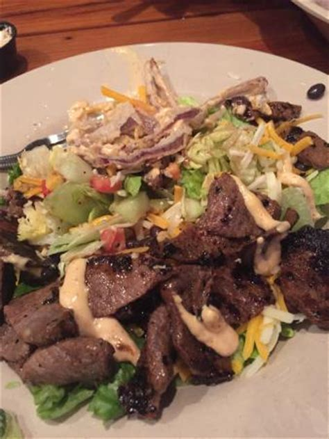 daytona ale house daytona ale house southwest bistro steak salad picture of miller s daytona ale house