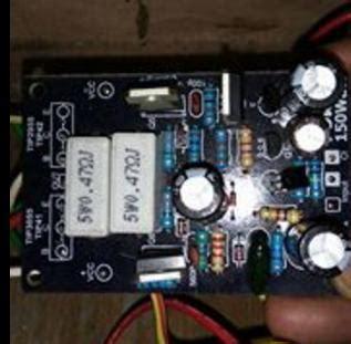 Power Lifier Rakitan Untuk Lapangan kerusakan umum pada driver power lifier ocl 150 watt