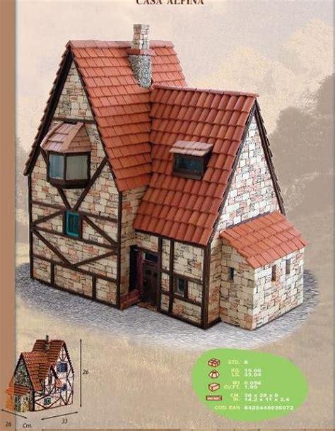 casa in miniatura maqueta casita alpina en kit de piedra indalchess tienda
