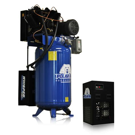 10 Hp Air Compressor Cfm - 10 hp air compressor with 58 cfm dryer single phase