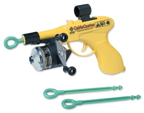 greenlee wire greenlee 06186 cable caster wire pulling tool with three darts