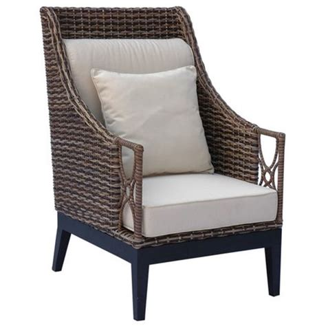 Rattan Accent Chair Accent Chairs Joss And