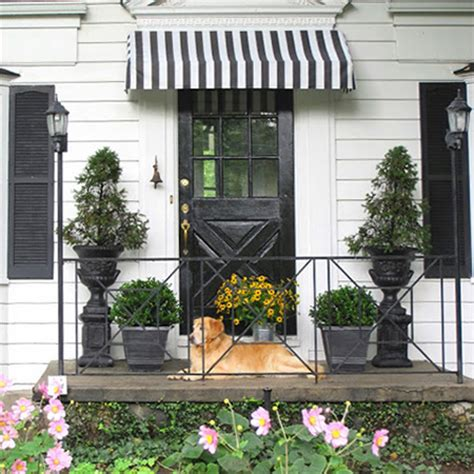 decorative window awnings home dzine home diy how to make a decorative door or