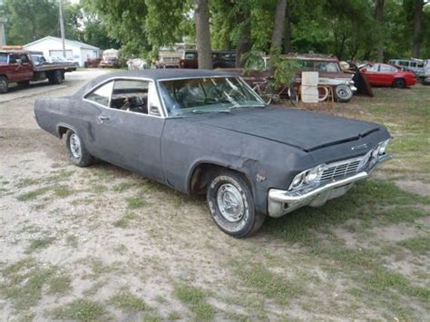 1965 chevy impala ss parts find used 1965 chevy impala sport ss black blk