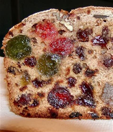 traditional christmas desserts fruit cake and candied