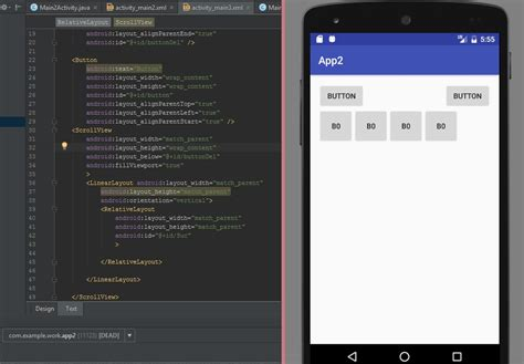 android gridlayout scrollable java make relativelayout scrollable stack overflow