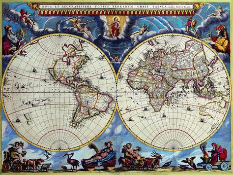 Tapisserie Moyen Age by Fond D 233 Cran Mod 232 Le Carte Du Monde Mosa 239 Que