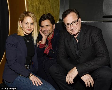 john stamos ex wives bob saget and fiancee kelly rizzo are not planning on