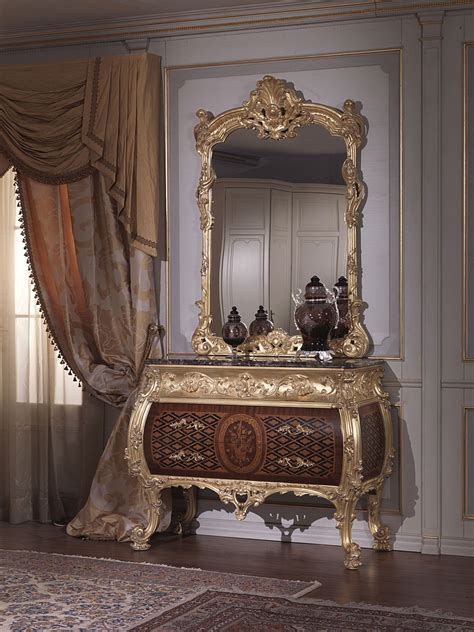 classic italian bedroom  century  louis xv chest