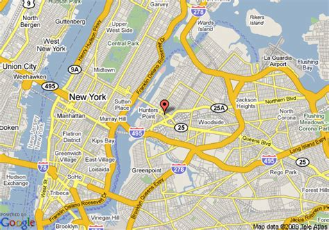 comfort inn lic map of comfort inn long island city long island city
