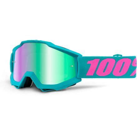 Goggle 100 Accuri Defcon1 Mirror Silver Lens Cle Diskon 100 accuri goggles mirrored lens motosport