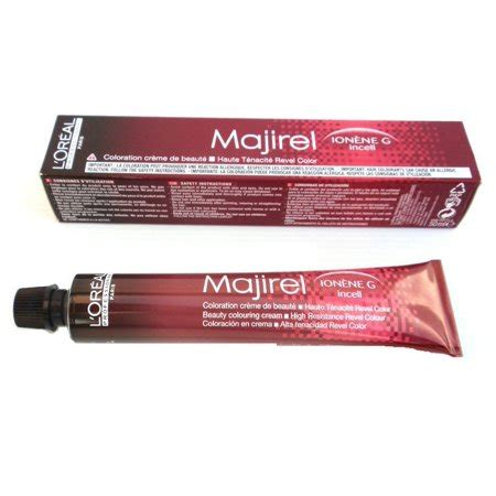 l oreal professional majirel 7 1 7a permanent hair color 50ml hair and supplier loreal majirel ionene g incell permanent creme color 6 32 1 7 oz walmart