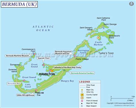 map of bermuda bermuda travel guide travel guide of barmuda