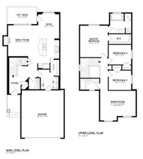 two level floor plans floor plans on bonus rooms models and pantries
