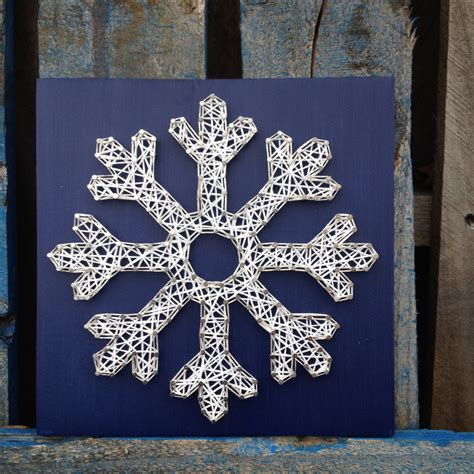 Snowflake String - made to order string mid size snowflake by