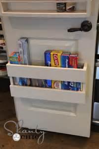 Closet Spice Rack Kitchen Organization Diy Foil Amp More Organizer Shanty