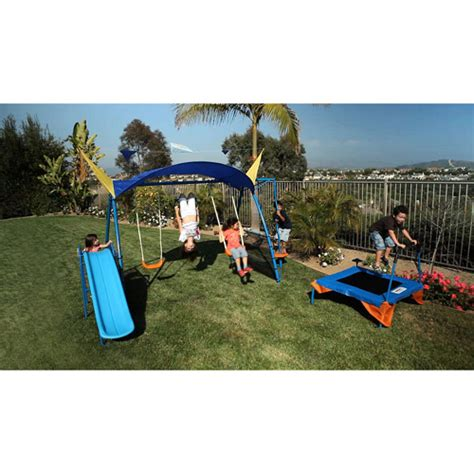 ironkids swing sets ironkids inspiration 600 fitness playground metal swing