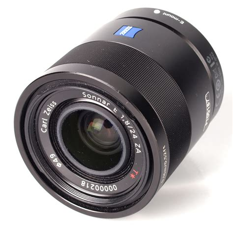 carl zeiss carl zeiss 24mm f 1 8 sonnar e za t lens review