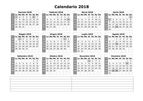 Giorni Festivi Calendario 2017 Calendario 2018 Giorni Festivi 28 Images Calendario