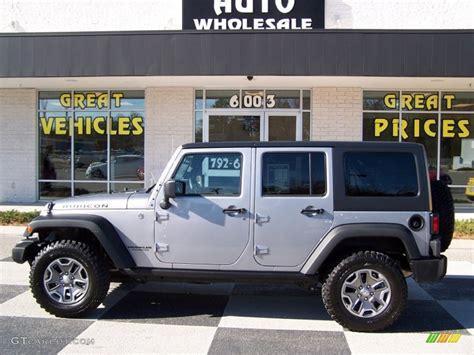 jeep rubicon silver 2013 billet silver metallic jeep wrangler unlimited