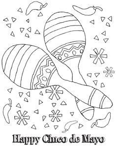 sombrero printable pattern abcteach printable worksheet