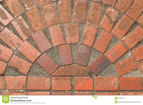 Brick Floor Design by Brick Floor Design Stock Image Image Of Concrete Construction 1382145