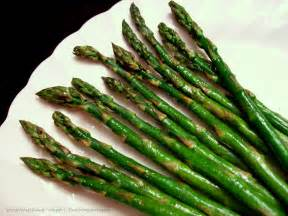 watching what i eat asparagus