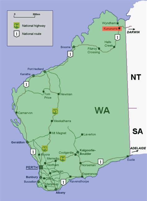 map of western australia file kununurra location map in western australia png
