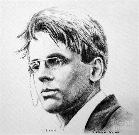 B Yeats Drawings w b yeats drawing by colleen quinn
