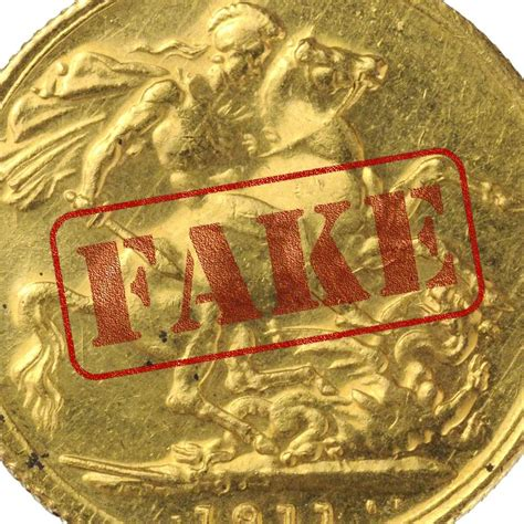 real gold fake gold sovereigns and spotting the counterfeits