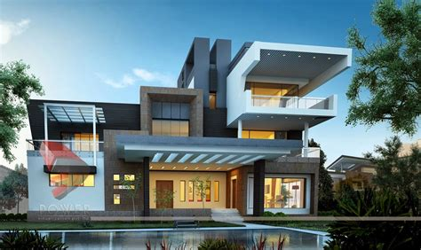 modern home design and build modern house 3d interior design 3d exterior rendering